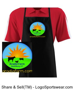 Long Apron With Pocket Design Zoom