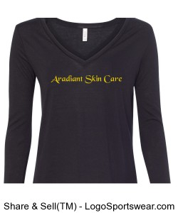Womens Flowy Long Sleeve Tee Design Zoom